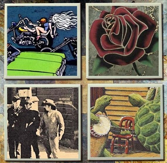 grateful dead album covers in order