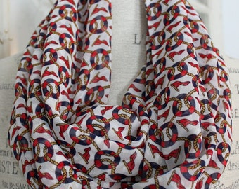 sheerly nautical infinity scarf