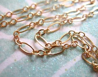 Shop Sale..10 feet, 14k Gold Filled Chain, Long and Short Chain, Oval Links, 10-20% Less Bulk, 5x2.5 mm,  wholesale sale MMGF, MGF5
