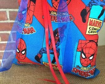 Spiderman Ring Bearer Pillow Wedding