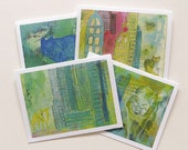 Wild Canines - Greeting Cards - Set of 4