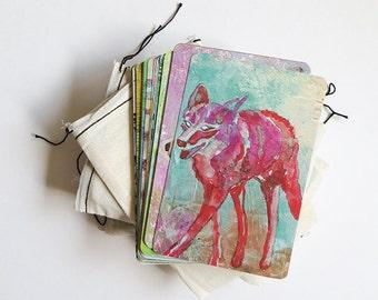 Deck of 30 Animal Medicine/Totem Cards