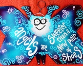 Your Personal Guardian Angel: Custom Angel Sign