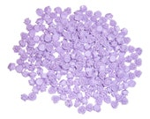 Cool Purple Rose Cabochons 7.5mm diameter (pack of 50)