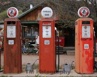 Antique Gas Pumps - Automotive Art - Old Gas Pumps - Automotive Photography - Fine Art Photography