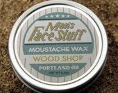Wood Shop Cedar and Cypress Scented Moustache Wax
