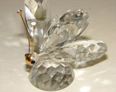 Swarovski Crystal Butterfly Figurine Collectible