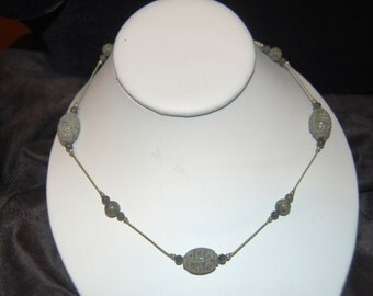 New - Jade Silk Necklace