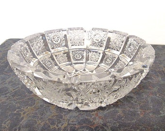 Gorgeous Brilliant Cut Crystal Bowl