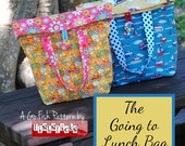 The Going to Lunch Bag (Instant Download) The Go Fish Series