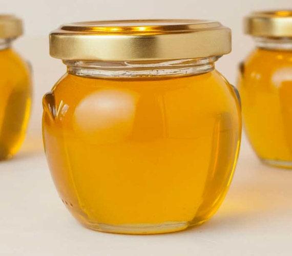 honey pot raw honey wedding favors 12 honey jar favors for With honey pot wedding favors