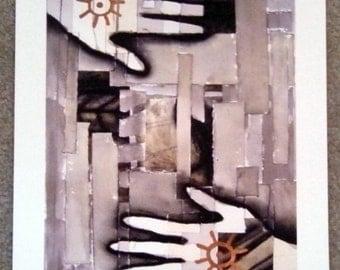 we make walls and windows III - Fine Art Print