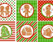 Gingerbread Party, Cupcake Toppers, Christmas Party, Gingerbread Party Printable, Cookie Exchange, Holiday Party, PDF, INSTANT DOWNLOAD