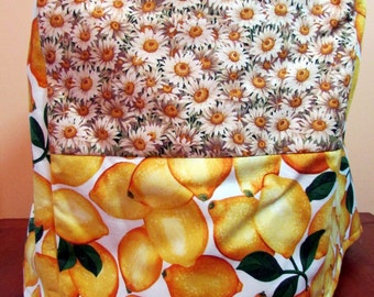 Bright Lemons/Daisy Keurig Cover-fits Elite/Platinum-great gift for coffee lover