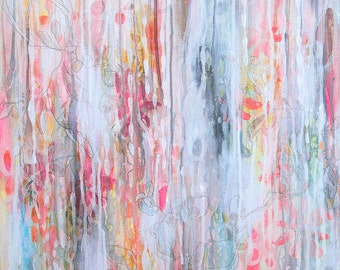 Sparkling Water- Original Acrylic Painting on Canvas