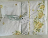 Imperfect Vintage sheets / cutters / perfect for crafting!