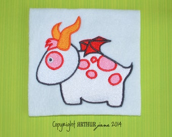 Monster 2, INSTANT DOWNLOAD, Embroidery Design for Machine Embroidery 4x4