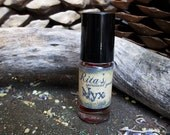 Rita's Nyx Hand Brewed Ritual Oil - Rebirth, Transformation, Beauty, Mystery - Pagan, Magic, Witchcraft, Hoodoo