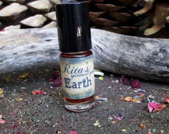 Rita's Earth Elemental Ritual Oil - Correct Imbalance, Grounding, Earth Magick