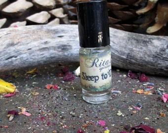 Rita's Sleep to Dream Hand Brewed Ritual Oil - Pagan, Magic, Hoodoo, Witchcraft, Juju