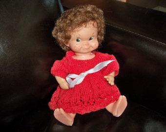 mischievous freckled face regal doll