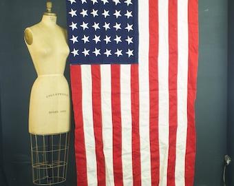 Betsy Ross Bunting 48 Star US Flag