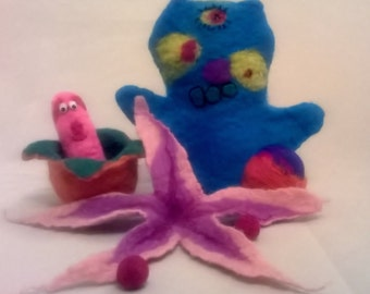 Heidifeathers Wet Felting Kids Kit - Kids Craft Kit