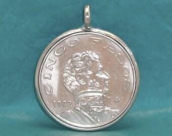 Mexico Coin Pendant (E-839)