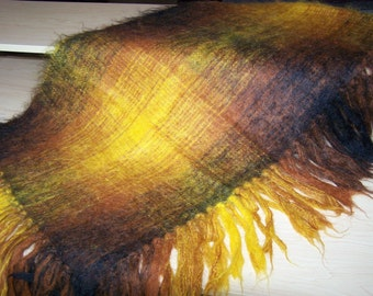 Mohair & Wool Shawl Made in England