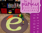 Alphabirdy Letter E- Pattern and Tutorial PDF Portable Play Mat