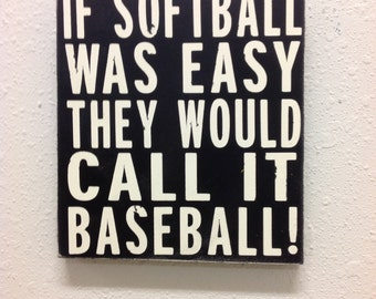 Softball sign Primitive sign  Sports