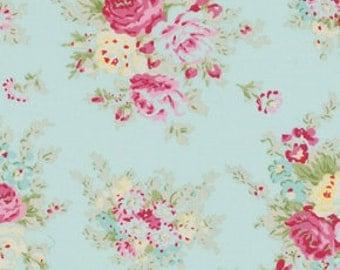 Rosey By Tanya Whelan Free Spirit Fabrics Cotton pwtw064teal OOP