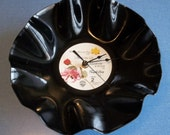 Prince Purple Rain Record Clock