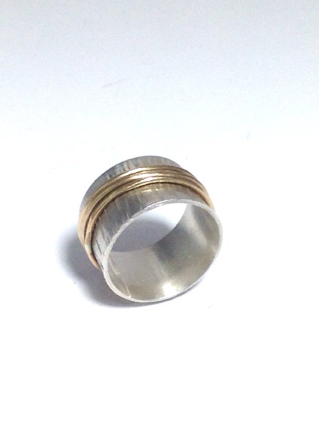 sterling silver spinner ring size 6 aprilierre