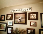 Family Name Signs wood signs home decor established date wedding gift anniversary gift pallet sin