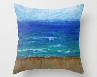 Beach III Pillow Cover 16x16, 18x18 or 20x20