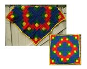 Crochet Pattern PDF – Playtime Baby Blanket – PB-106