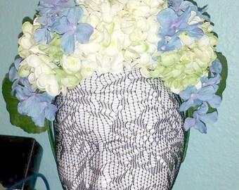 Blue Rhapsody - floral crown, fairy, festival, garden wedding, cottage chic, romantic