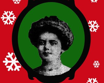 Typhoid Mary version 2 holiday card