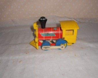 Fisher Price 1964  Toot Toot Wood and Plastic Engine