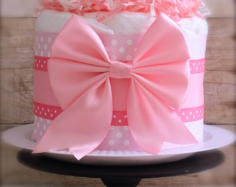 The Sweet Lace Mini Diaper Cake