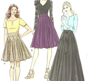 Vogue Pattern V8980 Skirt 6 8 10 12 14 2014 FF