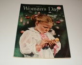 Vintage Womans Day Magazine December 1951 - Art, Christmas Issue, Vintage Ads, Collectibles, Scrapbooking, Paper Ephemera
