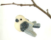 Dove Ornament Beaded Bird Spring Decoration Mother's Day Gift *MADE TO ORDER