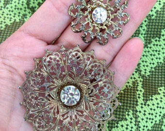 A set of two broaches