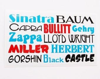Famous Franks Sticker