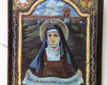 Saint Edith Stein St Teresa Benedicta of the Cross holocost victim Jewish convert nun