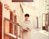 Off-white warm tube Muse sweater-dress