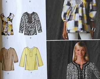 Blouse Sewing Pattern UNCUT Simplicity 2696 Sizes 6-14
