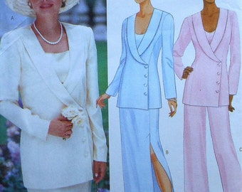 Jacket, Top, Skirt, and Pants Sewing Pattern UNCUT Butterick 5930 Sizes 8-12